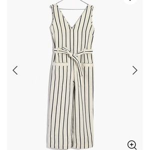 Madewell Stripped Jumpsuit